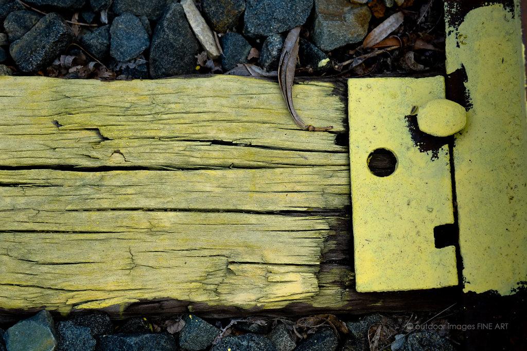 Yellow Railroad Tie