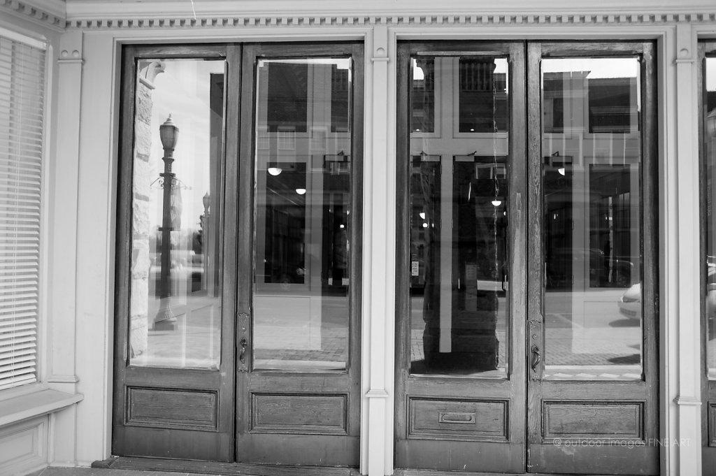 The Bank Doors