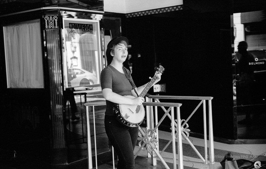 Banjo Pickin' on King Street